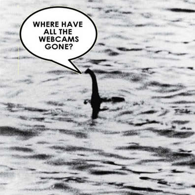 Photograph of Nessie the Loch Ness Monster