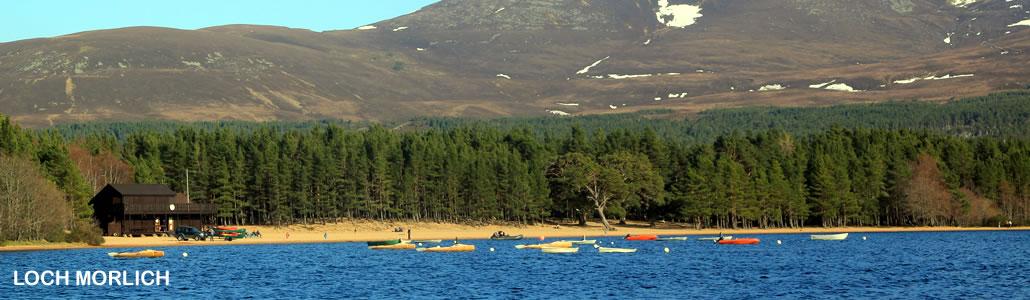 Photograph of Loch Morlich